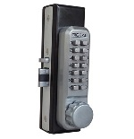 Lockey 2900 Keyless Mechanical Digital Narrow Stile Double Sided Door Lock