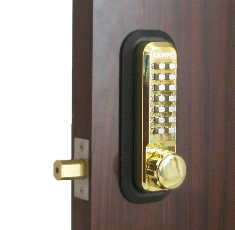 Lockey 2210 Keyless Mechanical Digital Deadbolt Door Lock