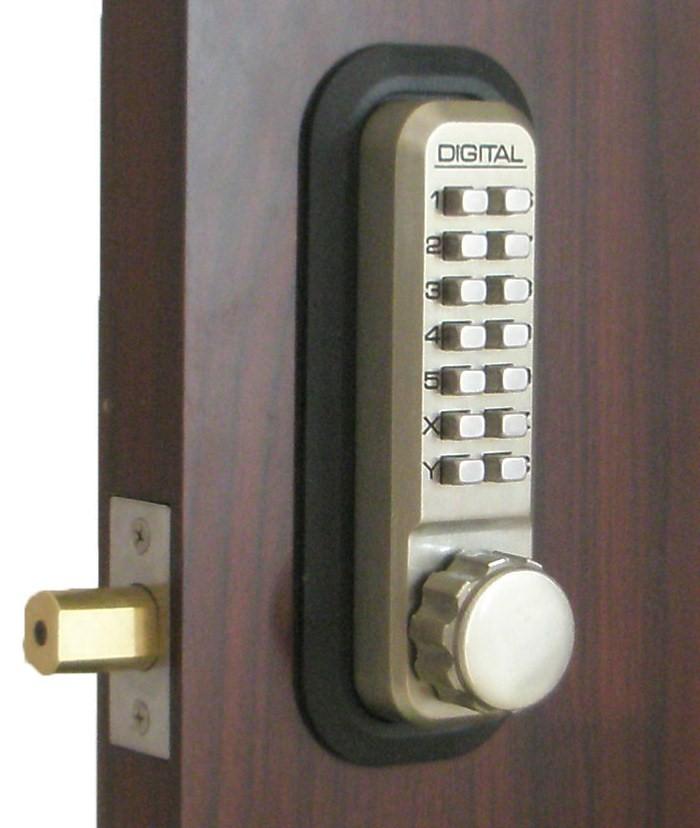 Lockey 2210dc Keyless Mechanical Digital Double Sided
