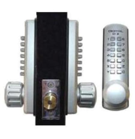 Lockey 3210dc Keyless Mechanical Digital Double Sided