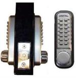 Lockey 2210DC Keyless Mechanical Digital Deadbolt with Double Sided Combination Door Lock