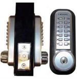 Lockey 2210DC-KO Mechanical Digital Deadbolt with Double Sided Combination Door Lock With Key Override