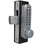 Lockey 2900 Keyless Mechanical Digital Narrow Stile Door Lock