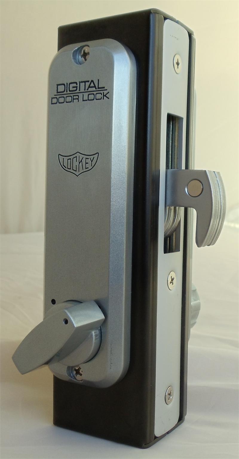 Lockey 2950 Mg Keyless Mechanical Digital Mortised Hook