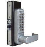 Lockey 1150 Keyless Mechanical Digital Lever Handle Spring Latch Door Lock