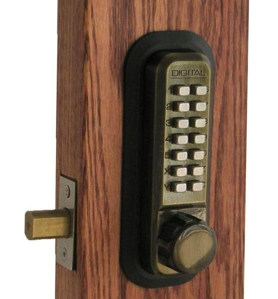 Lockey 2210dc Keyless Mechanical Digital Double Sided
