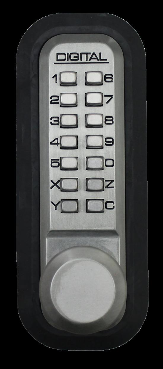 Lockey 2830dc Keyless Double Sided Mechanical Digital