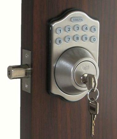 Lockey E Digital Keyless Electronic Deadbolt Door Lock