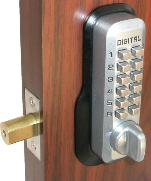 Lockey M210dc Keyless Mechanical Digital Double Sided