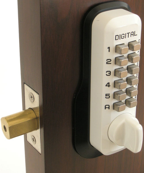 Lockey M210dc Keyless Mechanical Digital Double Sided