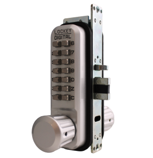 Lockey 2930 MG Keyless Mechanical Digital Adams Rite Style Latch Door Lock