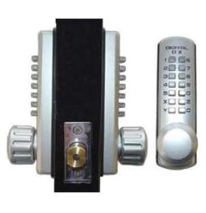 Lockey 3210DC Keyless Mechanical Digital Double Sided Combination Deadbolt Door Lock Marine Grade