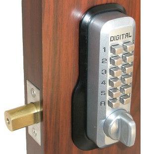 100 keyless exterior door lock security access control card