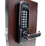 Lockey 1150 Keyless Mechanical Digital Spring Latch Door Lock Oil Rubbed Bronze Right Hand