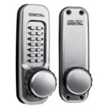 Lockey 1600 Keyless Mechanical Digital Spring Latch Door Lock Marine Grade