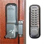 Lockey 2200 Keyless Mechanical Digital Surface Mounted Deadbolt Door Lock