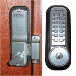 Lockey 2200KO Mechanical Digital Surface Mounted Deadbolt Door Lock With Key Override