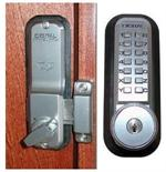 Lockey 2200KO Mechanical Digital Deadbolt Door Lock With Key Override
