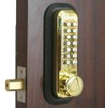 Lockey 2210 Keyless Mechanical Digital Deadbolt Door Lock