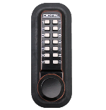 Lockey 2830 Keyless Mechanical Digital Spring Latch Knob Lock Oil Rubbed Bronze