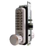 Lockey 2930DC MG Keyless Mechanical Digital Adams Rite Style Latch Double Sided Door Lock