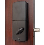 Lockey E-915 E-Digital Keyless Electronic Deadbolt Door Lock With Remote Oil Rubbed Bronze