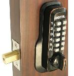Lockey M210 Keyless Mechanical Digital Deadbolt Door Lock Oil Rubbed Bronze