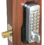 Lockey M210 Keyless Mechanical Digital Deadbolt Door Lock Satin Chrome